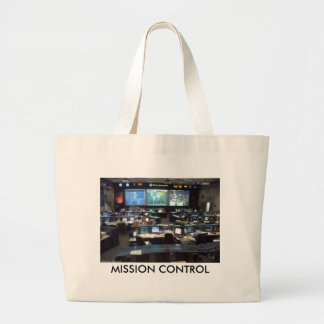 Mission Control Shuttle, MISSION CONTROL Canvas Bags