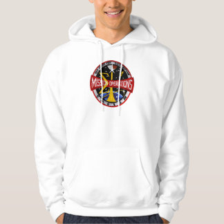 Mission Control: Space Flight Operations Hooded Pullovers