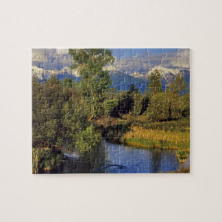 Mission Creek in the National Bison Range in Jigsaw Puzzles