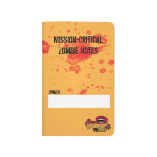Mission-Critical Zombie Notes Journal