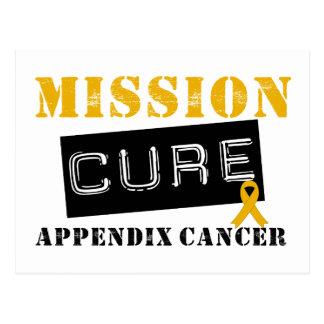 MISSION CURE APPENDIX CANCER POSTCARDS
