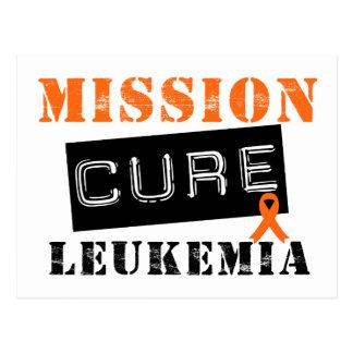 Mission Cure Leukemia Postcard