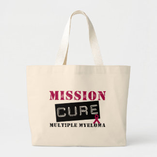 Mission Cure Multiple Myeloma Canvas Bag