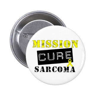 Mission Cure Sarcoma Pinback Button