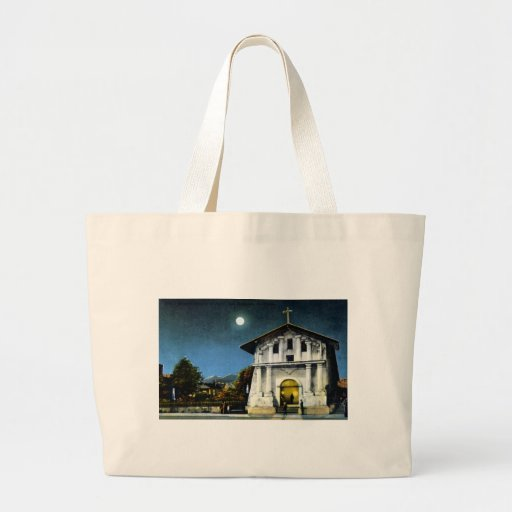 Mission Dolores 1 Large Tote Bag