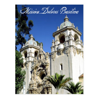Mission Dolores Basilica, San Francisco, CA Postcard