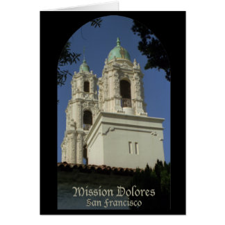 Mission Dolores Card