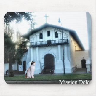 Mission Dolores Cat Mouse Pad