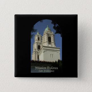 Mission Dolores Pinback Button