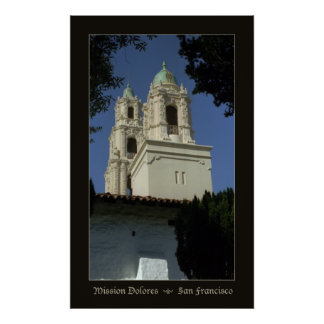 Mission Dolores Poster