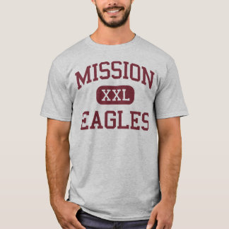 Mission - Eagles - High School - Mission Texas T-Shirt