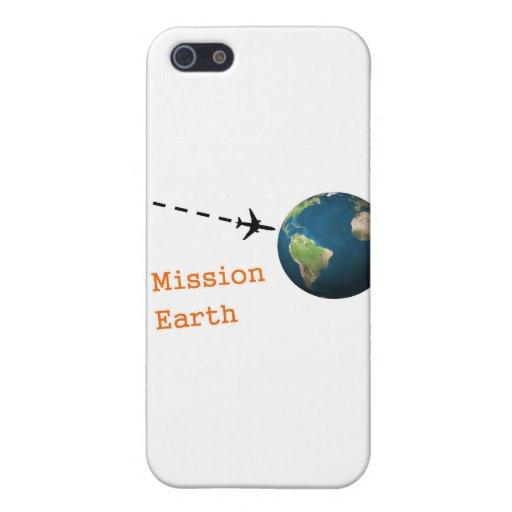 mission earth iPhone 5 cases