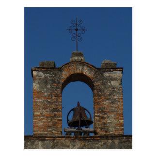 Mission Espada Bell Tower Postcard