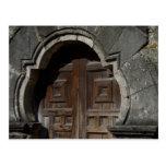 Mission Espada Doorway Postcards