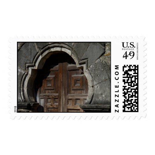 Mission Espada Doorway Stamps