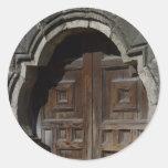 Mission Espada Doorway Stickers