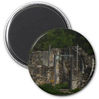 Mission Espada Ruins Refrigerator Magnets