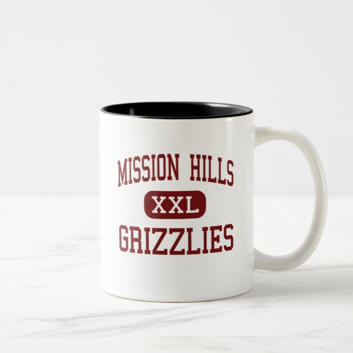 Mission Hills - Grizzlies - High - San Marcos Two-Tone Coffee Mug