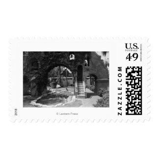 Mission Inn Courtyard of Riverside, CA Photograp Postage