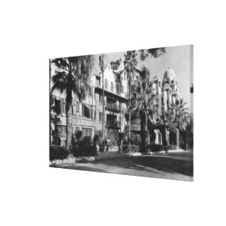Mission Inn Exterior of Riverside CA Photograph Canvas Print
