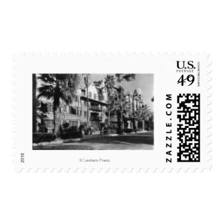 Mission Inn Exterior of Riverside, CA Photograph Postage