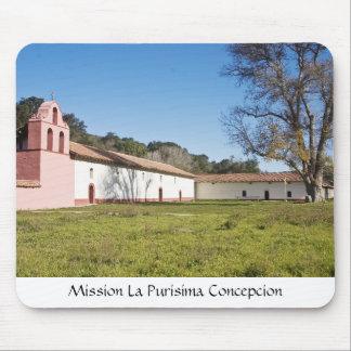 Mission La Purisima Concepcion Mouse Pad