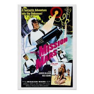 Mission Mars Poster
