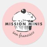Mission Minis Classic Round Sticker