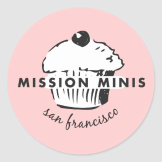 Mission Minis Classic Round Sticker