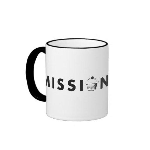 Mission Minis Logo Ringer Coffee Mug
