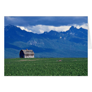 Mission Mountains, Flathead Valley, Montana, USA Cards