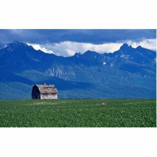 Mission Mountains, Flathead Valley, Montana, USA Statuette