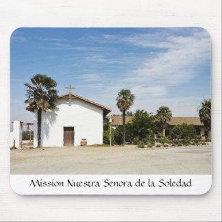 Mission Nuestra Senora de la Soledad Mouse Pads
