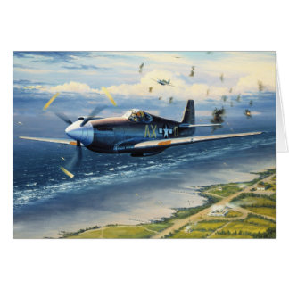 Mission Over Normandy by William S Phillips Cards