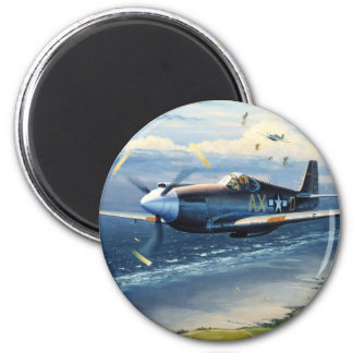 Mission Over Normandy by William S. Phillips Magnet