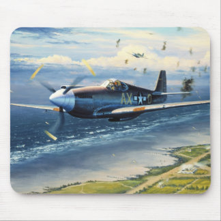 Mission Over Normandy by William S. Phillips Mouse Pad