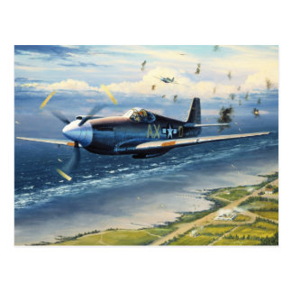 Mission Over Normandy by William S Phillips Post Cards