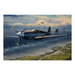 Mission Over Normandy by William S. Phillips Print