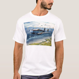 Mission Over Normandy by William S. Phillips T-Shirt