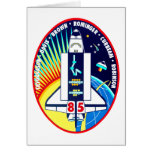 Mission Patch of the STS-85 Shuttle Mission - 1997 Card