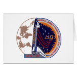 Mission Patch of the STS-87 Shuttle Mission - 1997 Greeting Card