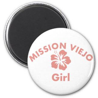 Mission Pink Girl Magnets