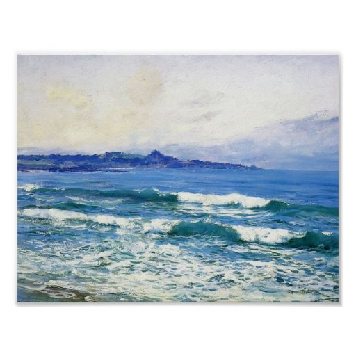 Mission Point by Guy Rose Poster