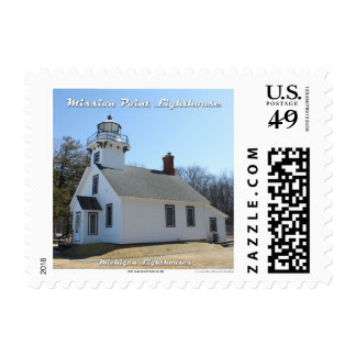 Mission Point Lighthouse: 1st Class Postage