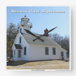 Mission Point Lighthouse - Clock