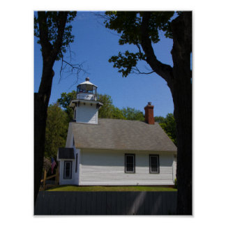 Mission Point Lighthouse, Michigan Poster