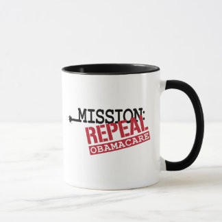Mission: Repeal ObamaCare Mug