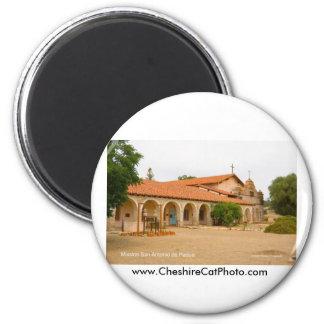 Mission San Antonio de Padua California Products 2 Inch Round Magnet