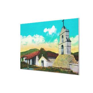 Mission San Antonio de PalaPala, CA Canvas Print