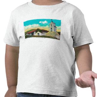 Mission San Antonio de PalaPala, CA Tee Shirts